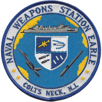 Naval Weapons Station Earle Colts Neck New Jersey Patch