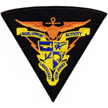 Naval Support Activity Lakehurst New Jersy Patch