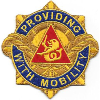 57th Transportation Battalion Patch