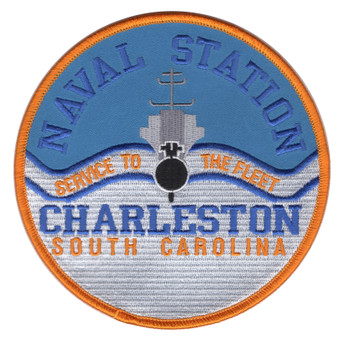 Naval Station Charleston South Carolina Patch