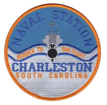 Naval Station Charleston South Carolina Patch