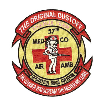 57th Medical Company Charlie Team Air Ambulance Patch