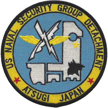 Naval Security Group Detachment Atsugi Japan Patch