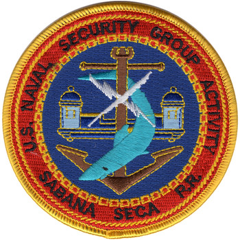 Naval Security Group Activity Sabana Seca Puerto Rico Patch