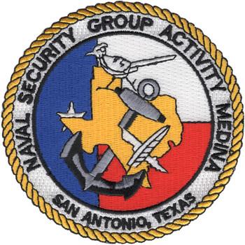 Naval Security Group Activity, Medina, Texas Patch