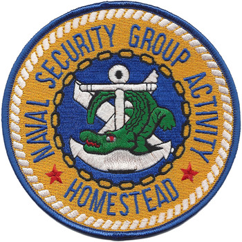 Naval Security Group Activity Patch Homestead