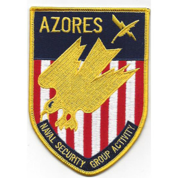 Naval Security Group Activity Azores Patch