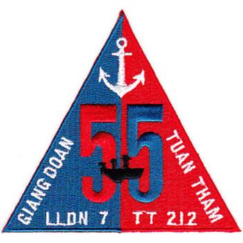 Naval River Patrol Group 55 Patch