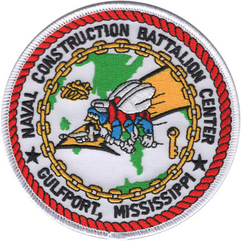 Naval Mobile Construction Battalion Center Gulfport Mississippi Patch