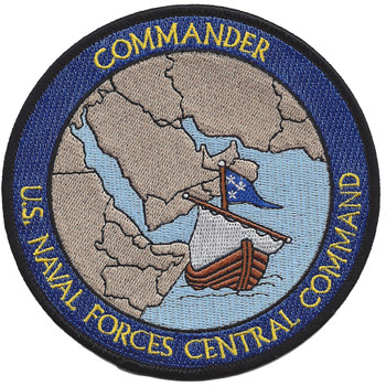 Naval Forces Central Command Commander Patch