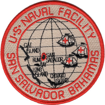 Naval Facility San Salvador Patch