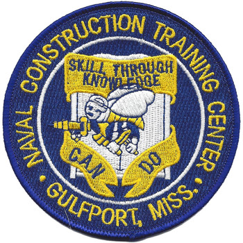 Naval Construction Training Center Gulfport, Mississippi Patch