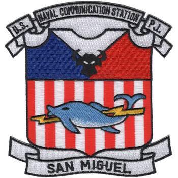 Naval Communication Station San Miguel Patch
