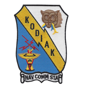 Naval Communication Station Kodiak Alaska Patch