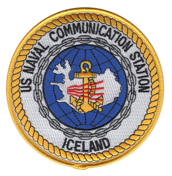 Naval Communication Station Iceland Patch