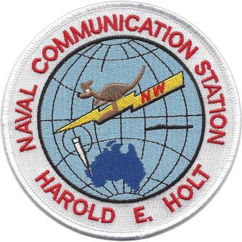 Naval Communication Station Harold E. Holt Patch