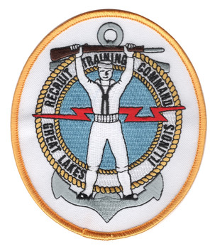 Recruit Training Command Great Lakes Illinois Sailor Patch