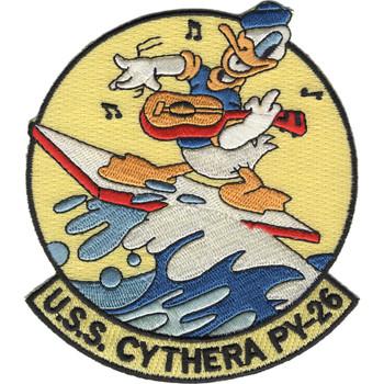 PY-26 USS Cythera Patrol Yacht Patch