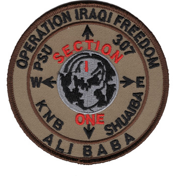 PSU 307 Port Security Unit Operation Iraqi Freedom Patch