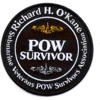 POW Survivor Submarine Veterans Patch