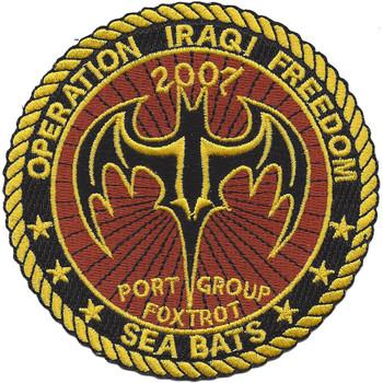Port Group Foxtrot Seabats Patch