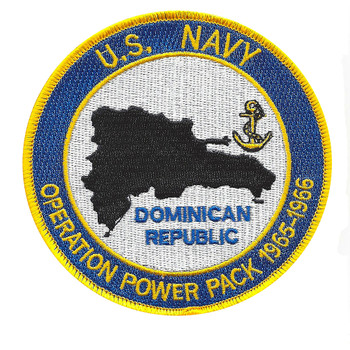 Opertion Power Pack 1965-1966 Dominican Republic US Navy Patch