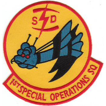 Operations Command 1st Special Operations Squadron Goose Patch