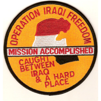 Operation Iraqi Freedom Patch Mission Accomplished