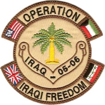 Operation Iraqi Freedom 05-06 Patch
