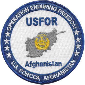 Operation Enduring Freedom Afghanistan Patch OEF
