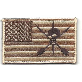 ODA 9235 19th SFG On The Left Sleeve Patch Hook And Loop