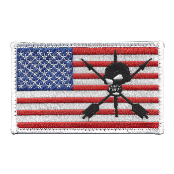 ODA 9235 19th SFG Color On The Left Sleeve Patch Hook And Loop
