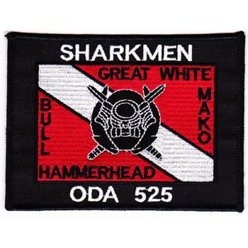 ODA-525 Patch - Sharkmen