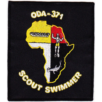 ODA-371 Patch - Scout Swimmer