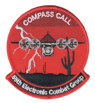 55th Electronic Combat Group Patch