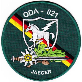 ODA-021 Jaegers Patch