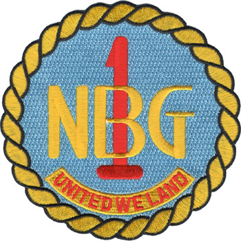 Naval Beach Group 1 Patch