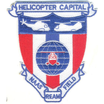 Naval Auxiliary Air Station Ream Field, California Patch