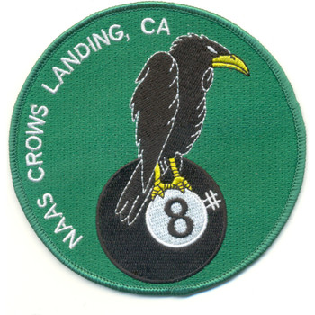 Naval Auxiliary Air Station Crows Landing California Patch