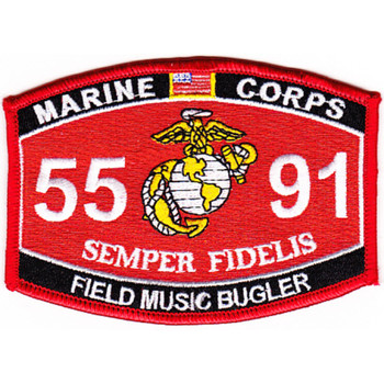 5591 Field Music Bugler MOS Patch