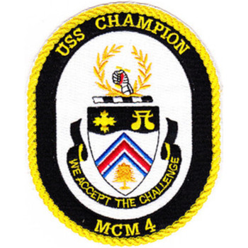 MCM-4 USS Champion Patch
