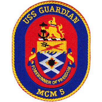 MCM-5 USS Guardian Patch