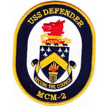 MCM-2 USS Defender Patch