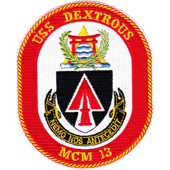 MCM-13 USS Dextrous Patch
