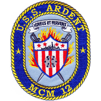 MCM-12 USS Ardent Patch
