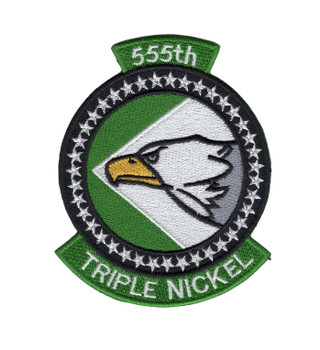 555th Fighter Squadron Patch