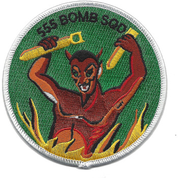 555th Bomber Squadron Patch