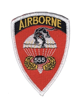 555th Airborne Infantry Regiment Patch