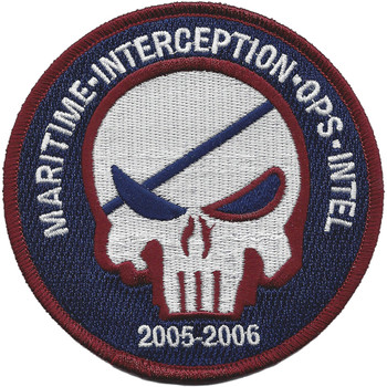 Maritime Interception Ops Intel Calico Jack Pirate Patch