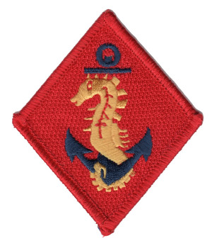 Marine Ships Detachment WWII Patch